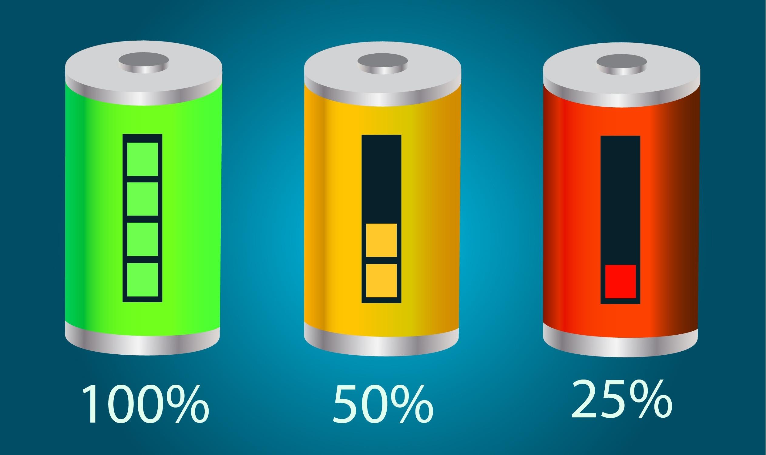 Pojemność baterii skutera elektrycznego
